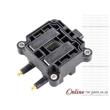 Opel Alternator - Zafira 2.2i Z22SE 100A 12V 90mm 5 x Groove KCB2 2P OE 0124415009 0124415025