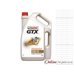 Castrol GTX 20W-50 5L Mineral Multigrade Oil