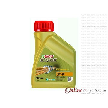 Castrol Edge 5W-40 500ml Fully Synthetic Diesel and Petrol Oil