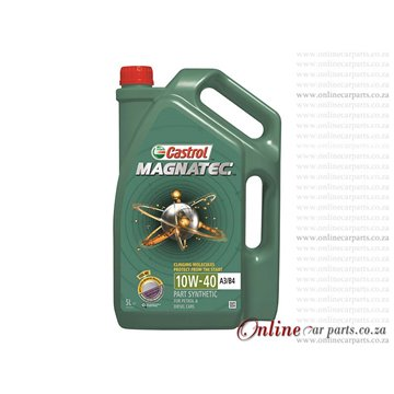 Castrol Magnatec 10W-40 5L Part Synthetic Petrol and Diesel Engines Oil