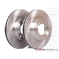 BMW Z3 All models Z4 (E85) 2004 on Front Ventilated Brake Disc 2004 on
