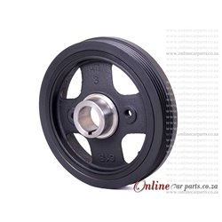 DAIHATSU SIRION [2] 1.3 06-11 K3-VE 16V Crankshaft Crank Vibration Damper Pulley
