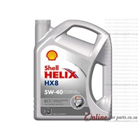 Shell Helix HX8 5L 5W40 Fully Synthetic Engine Oil
