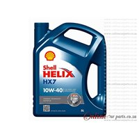 Shell Helix HX7 5L 10W40 Synthetic Technology Petrol Engine Oil