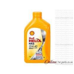 Shell Helix HX5 15W-40 1L Premium Multi-Grade Petrol and Diesel Engine Oil