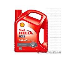 Shell Helix HX3 5L SAE-40 Mono-Grade Engine Oil