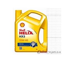 Shell Helix HX5 5L 15W40 Premium Multi-Grade Diesel Only Engine Oil
