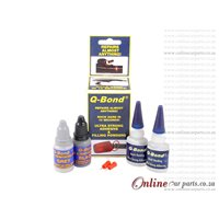 Q-Bond Ultra Strong Adhesive & Re-inforcing Powders that Repairs almost Anything
