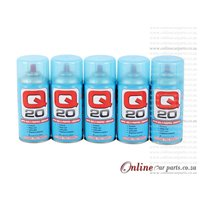Q20 Super Multi-Purpose Lubricant 300G - Protects Stops Rust Displaces Moisture - 5 PACK