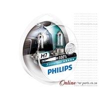 Philips H7 X-Treme Vision Headlight Headlamp Bulbs Globe