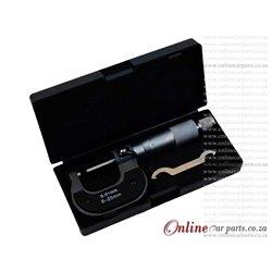 Micrometer 0-25/0.01mm Plastic Case