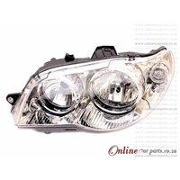 Fiat Palio Sienna Left Hand Side Manual Headlight Headlamp 2005-