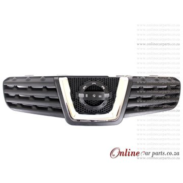 Nissan Qashqai Grille PT And CP Moulding 2007-2009