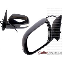 Toyota Hilux Left Hand Side Electric Door Mirror With Lamp 2011-