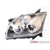 Toyota Avensis Left Hand Side Electric Headlight Headlamp 2006-
