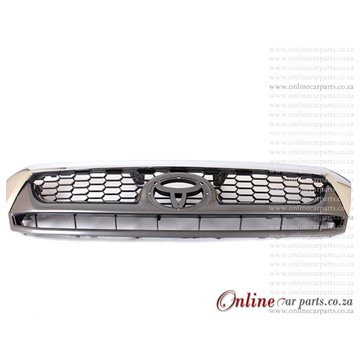 Toyota Hilux 4WD Grille CP GY MID P3 2009-2010