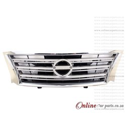 Nissan Sentra 1.6 Grille SV And CP Frame 2013-