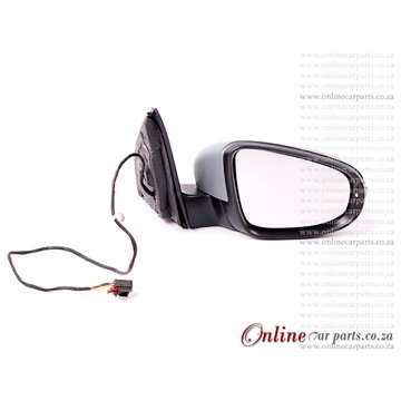 VW Golf MK 6 Right Hand Side Electric Door Mirror With Indicator Light
