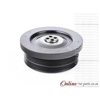 BMW 5-SERIES [E60] 530D 07-10 M57 D30 24V 6PK + 4PK Belt Crankshaft Crank Vibration Damper Pulley