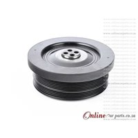 BMW 3-SERIES [E46] 330D 03-05 M57 N30 24V 6PK + 4PK Belt Crankshaft Crank Vibration Damper Pulley