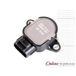 Mazda MX5 1.8 16V VVT BP6D NBFL Clockwise Throttle Position Sensor OE 198500-1031 ZJ0118911