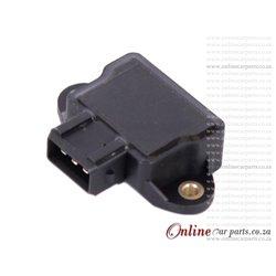 VW Golf III VR6 2.8L Throttle Position Sensor OE 037906385Q 13631436000