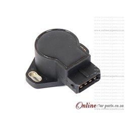 Hyundai Santa Fe 2.7 G6BA 4 PIN Anti-Clockwise Throttle Position Sensor OE 35102-39070 35102-3B000