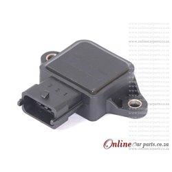 Opel Calibra 2.0i T 95-97 C20LET Anti-Clockwise Throttle Position Sensor OE 91173884 91174211