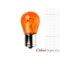 PY21W Orange Front & Rear Turn Signal Halogen Globe 12V 21W GL124965SV BAU15s