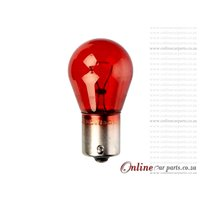 PR21W Single Contact Red Park Light Globe 12V 21W GL12088 BAW15s