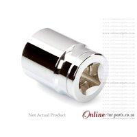 1/2 Chrome Vanadium Socket Drive 12mm