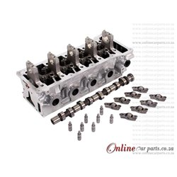 Ford Bantam Fiesta IKON 1.6 ROCAM 8V 00-12 Valve Assembled Cylinder Head with Camshaft Followers and Rockers