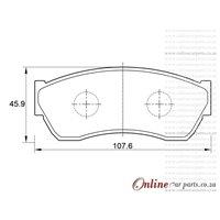 Chana Benni 1.3 4 Cyl 1301 Eng 2008-2012 Front Brake Pads