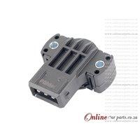 BMW E39 540i M62 Throttle Position Sensor OE 13631726591