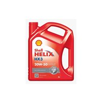 Shell Helix HX3 20W-50 5L Multi-Grade Motor Diesel and Petrol Engines Engine Oil