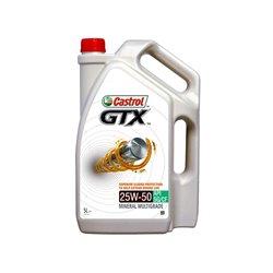 Castrol GTX 25W-50 5L Mineral Multigrade Engine Oil