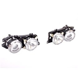 BMW E34 535i 5-Series Right Hand Side Complete In+Out Headlamp Headlight + Bucket 1989-1996