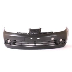 Nissan Tiida Complete Plain Front Bumper With Center Bumper Grille 2006-2012