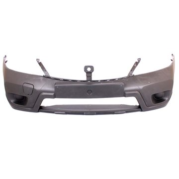 Nissan NP200 Front Bumper Without Fog Light Fog Lamp Holes With T-Hitch Cover High