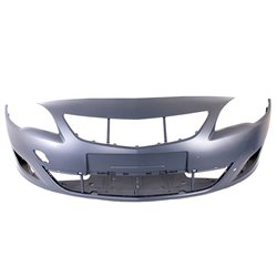 Opel Astra J 1.6 MK 5 Front Bumper Without T HIT Cover Primed 2010-2012