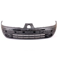 Renault Clio MK II Plain Front Bumper With Fog Light Fog Lamp Cover And Strip Holes