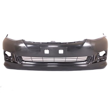 Toyota Fortuner Plain Front Bumper Without Washer Holes With BP G-E LAT P3