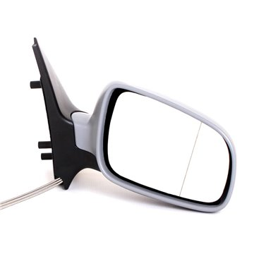 VW Polo MK I Right Hand Side Door Mirror and Long Wire Millenium Type