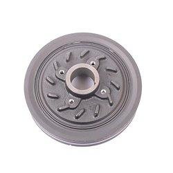 Hyundai H100 2.5D 94-96 D4BA 8V Crankshaft Crank Vibration Damper Pulley OE 23124-42001