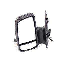 Mercedes Benz Sprinter 3 Left Hand Side Electric Door Mirror And Lamp 2006-