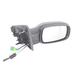 Renault Megane MK II Right Hand Side Manual Door Mirror And Wire 2003-2008