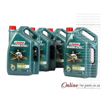 Castrol Magnatec 10W-40 5L Fully Synthetic Technology Petrol and Diesel Engine Oil - 1 CASE