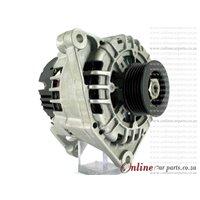 Audi A4 1.8T B6 02-04 BFB 90A 12V 5 Groove IR/IF 2 PIN Alternator OE 06B903016A 06B903016D SG9B010