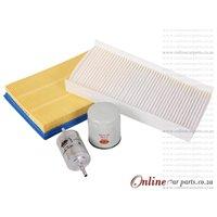 Chevrolet Corsa Utility 1.4i 1.8i 10-11 Filter Kit Service Kit