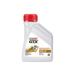 Castrol GTX 20W-50 500ml Mineral Multigrade Oil